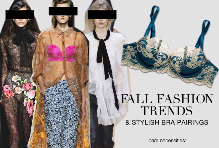 fall fashion bra show